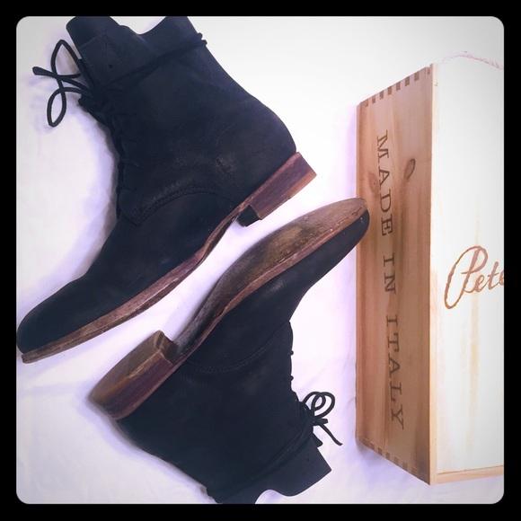 Peter Nappi Julius boot, Nero Kudu Leather